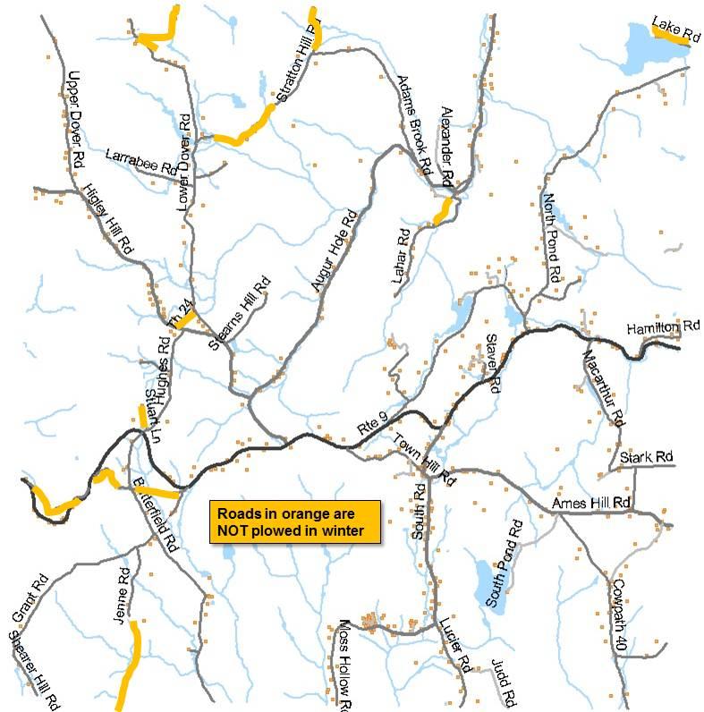 Winter Plowing Map